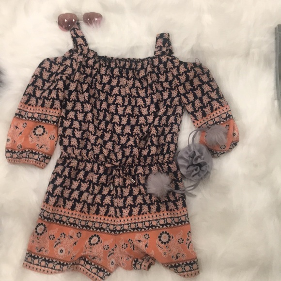 My Michelle Other - 🌸MY MICHELE Stylish Patterned Romper🌸